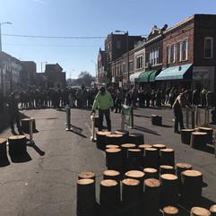 Log Splitting Contest in November 2019