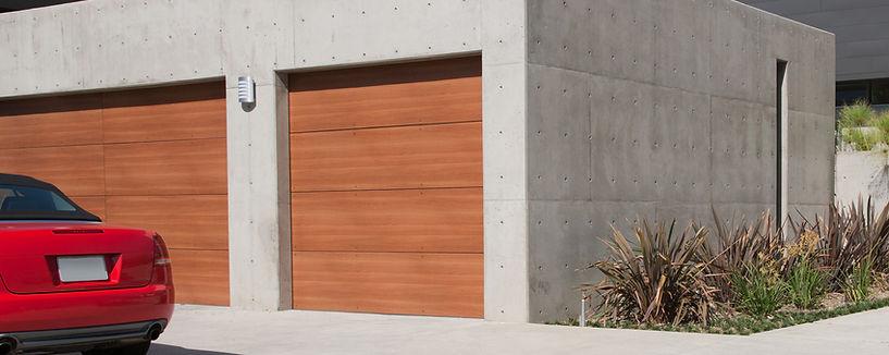 Exterior of Garage Door Fontana