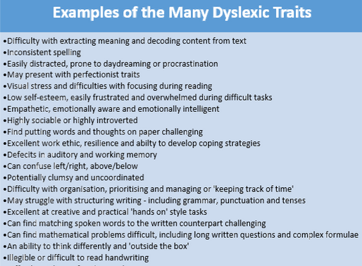 The Dyslexic Variation