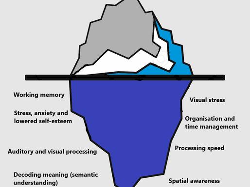 The Dyslexic Iceberg: An Excellent Analogy