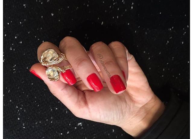 Rose gold-filled Rings... 💍_Herkimer D