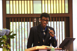 Pastor Pat's First Service