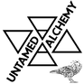 Black Untamed Alchemy Logo on transparen