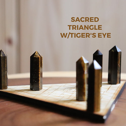 Sacred Triangle Grids w/Terminated Points