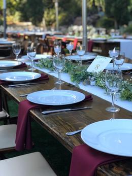 8' Farm Table