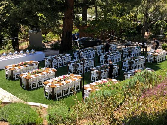 8' Farm Tables