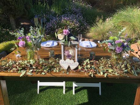 5' Sweetheart Table