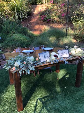 5' Sweetheart Farm Table