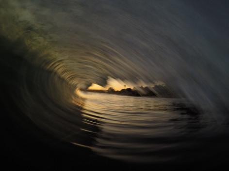 Sunset blur