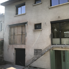 Modification façade arrière