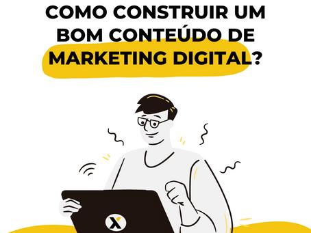 Você sabe como construir um bom Marketing Digital?