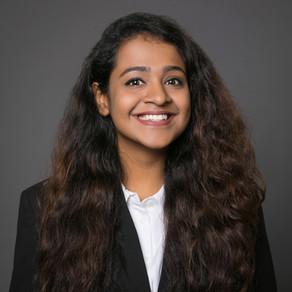Student Spotlight: Sayoni Chakrabarti, Class of 2021