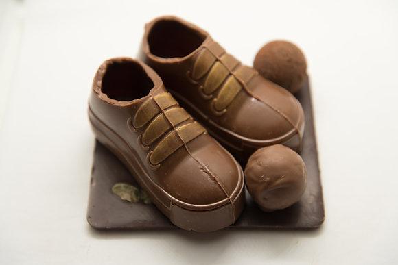 Baskettes chocolat lait ou noir