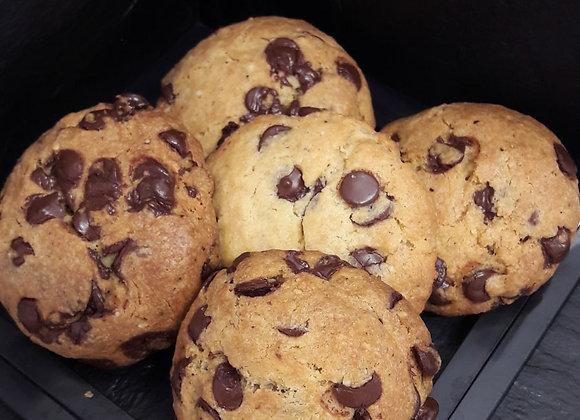 Cookies pépites sans gluten