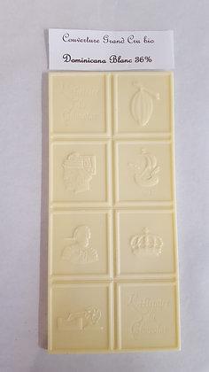 Tablette Couverture Grand Cru Blanc Dominicana 36%