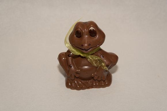 Grenouille chocolat lait M