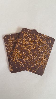 Tablette chocolat noir Caramelis
