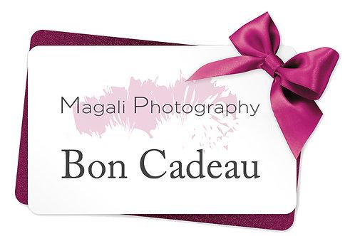 Bon Cadeau pour 1 séance photos
