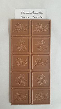 Tablette Grand Cru Lait 33% Maracaibo Crème