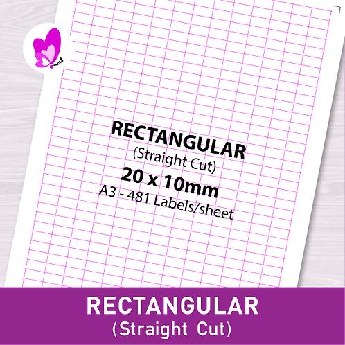 Label Sticker - RSC 20mm x 10mm (481pcs/set A3)