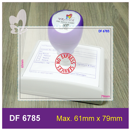 Flash Stamp DF6785
