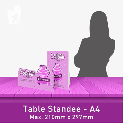 Table-Size Standee (A4)