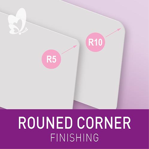 Finishing - Round Corners (per 100pcs)