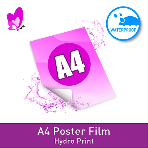 Digital Print Poster - A4 Film Signle-Sided