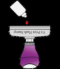 Refill ink fast method
