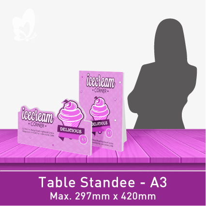 Table-Size Standee (A3)