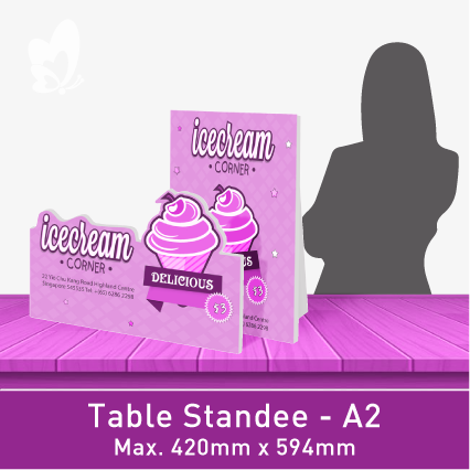 Table-Size Standee (A2)