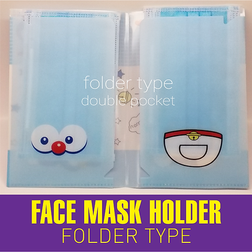 Face Mask Holder (Folder Type)