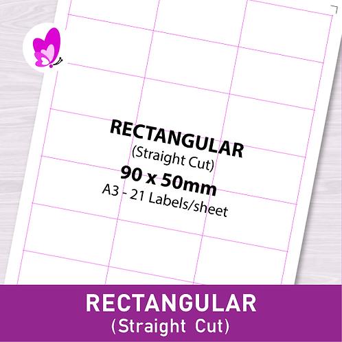 Label Sticker - RSC 90mm x 50mm (21pcs/set A3)