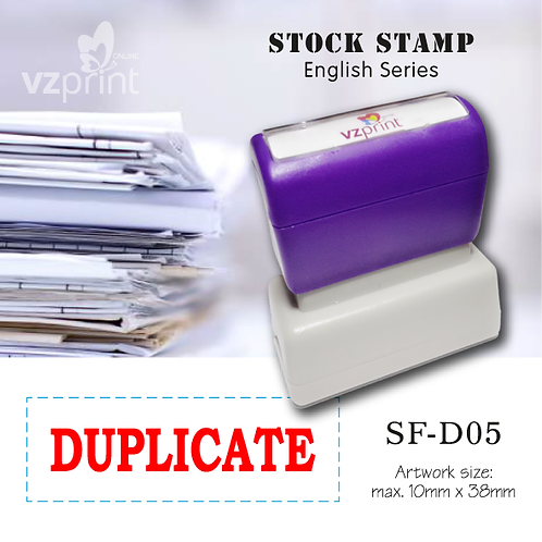 Stock Stamp SF-D05