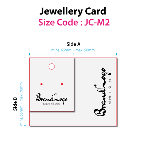 Jewellery Cards (JC-M2)