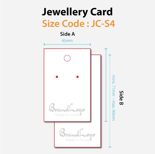 Jewellery Cards (JC-S4)