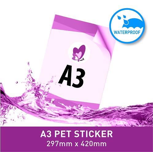 Sticker Poster - A3 PET