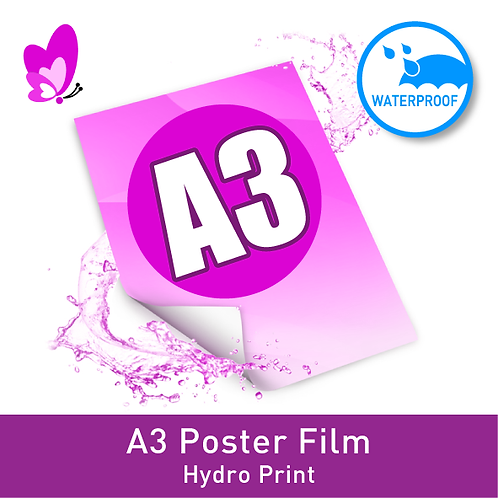 Digital Print Poster - A3 Film Single-Sided