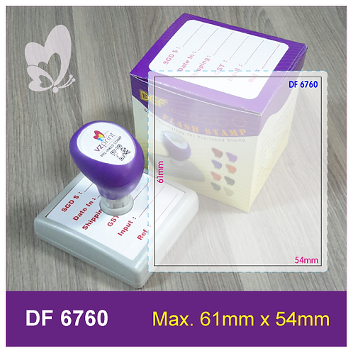 Flash Stamp DF6760