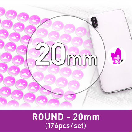 Label Sticker - Round 20mm