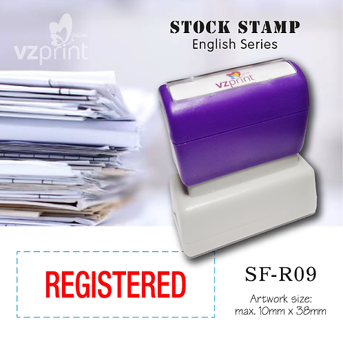 Stock Stamp SF-R09