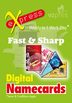 Name cards business cards singapore vz print online express namecards 250gsm gloss art card reheart Images