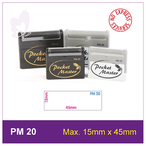 Flash Stamp PM-20