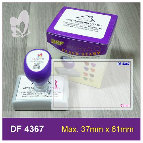 Flash Stamp DF4367