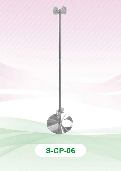 Clip Pole - Stainless Steel (Crab Base)