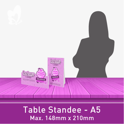 Table-Size Standee (A5)