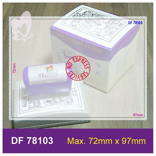Flash Stamp DF78103