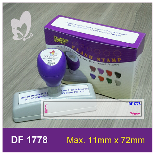 Flash Stamp DF1778