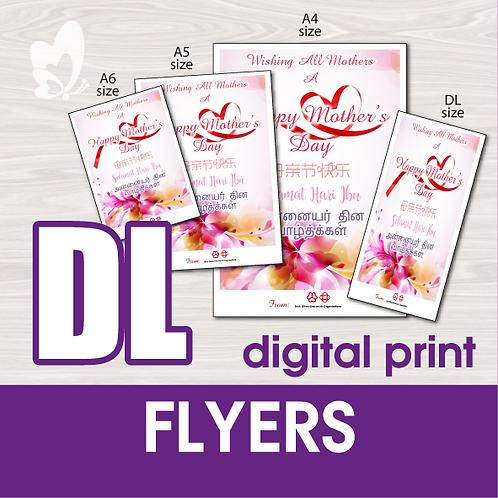 DL Flyers (Digital Print)