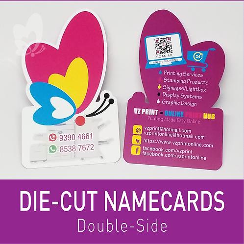 Die-Cut Name Cards (DS)